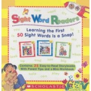 Sight Word Readers Boxed Set Learning the First 50 Sight Words Is a Snap With Mini-Workbook
