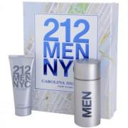 Carolina Herrera 212 NYC Men lote de regalo III eau de toilette 100 ml + gel after shave  100 ml