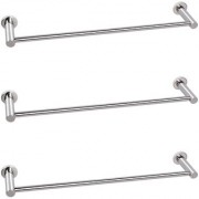 Doyours 24 Inch Glossy Towel Bar in Stainless Steel - 3 Pcs