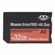 32GB Memory Stick Pro Duo HX Memory Card - 30MB PER Second High Speed for Use with PlayStation Portable (100% Real Capacity)