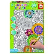 Educa 17090. 0Â 300Â Big Beautiful Blossoms Colou Ring Puzzle