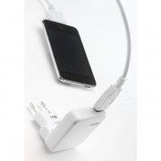 Veho EU Mains USB Charger for iPod/ iPhone/ iPad/