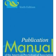 Publication Manual of the American Psychological Association Paperback Edition