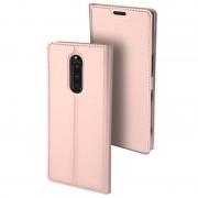 Dux Ducis Skin Pro Sony Xperia 1 Flip Case - Rose Gold
