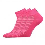 Voxx 3PACK ponožky Voxx růžová (Setra) M