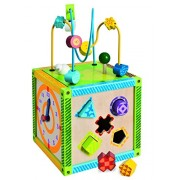 Simba Wooden Activity Cube