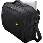 """GEANTA CASE LOGIC notebook 16"""", nylon, 2 compartimente + compartiment Smart frontal pt. accesorii, buzunar interior tableta, buzunar frontal, black, """"ZLC216""""/3201531"""