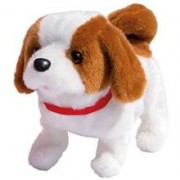Happy Pets Playful Puppy Pal Brown & White