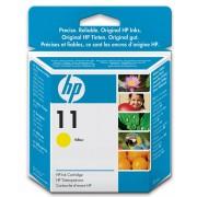 Cartus cu cerneala original expirat HP 11 Yellow HP Business InkJet / 1000 / 1100D / 1200 / 2200 / 2300 / 2600 / 2800 / Color InkJet CP1700 DesingJet 70 / 100 / 110 / 100plus / 110plus OfficeJet 9110 / 9120 / 9130 OfficeJet Pro K850 C4838AE