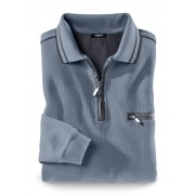 Walbusch Extraglatt-Polo-Pullover