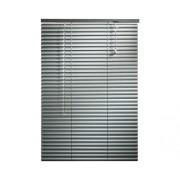 Jaluzea din aluminiu, argintie, 80x160 cm