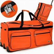 Cross160L pojízdná cestovní taška DEU889 oranžová