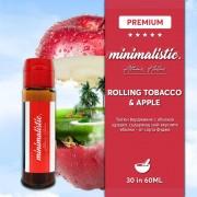 Minimalistic Short Fill 30/60мл - Rolling tobacco Apple