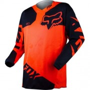 FOX 180 Race Jersey 2015 #10713 Orange-Negru