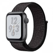 Смарт часовник Apple Watch Nike+ Series 4 GPS, 40mm Space Grey Aluminium Case with Black Nike Sport Loop, MU7G2WB/A