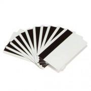 PVC магнитна карта Zebra, Hi-Co, CR80, бяла, кодирана