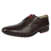 Clarks Men's Gleeson Walk Dark Brown Formal Shoes - 10 UK