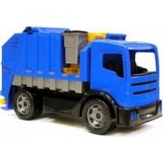 Camion gunoi albastru din plastic Lena pentru copii sustine 100kg