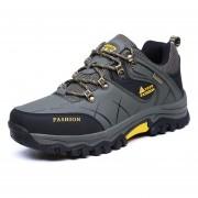 Zapatos TENIS Deportivos Hombre Al Aire Libre Alpinismo Zapatillas -Verde Del Ejército