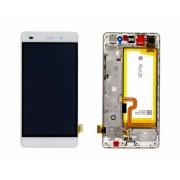 Ecran Display Huawei P8 Lite Original Service Pack cu baterie Alb, ALE-L21