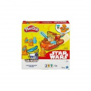 Juguetes--Luke Skywalker & R2-D2 Play Doh B0595-Multicolor