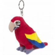 WNF pluche papegaai sleutelhanger 10 cm
