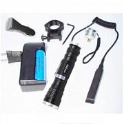 Lanterna vanatoare pentru arma Bailong BLQ1853T6 LED 3W Zoom 12V 220V