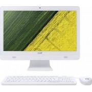 Sistem All in One Acer Aspire C20-720 19.5 inch LED QHD+ Intel Celeron J3060 4GB DDR 3L 1TB HDD White