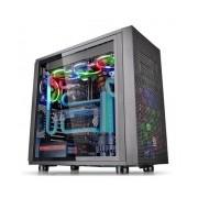 Gabinete Thermaltake Core X31 TG Edition con Ventana LED Azul, Midi-Tower, ATX/Micro-ATX/Mini-ATX, USB 2.0/3.0, sin Fuente, Negro