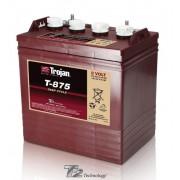 Batería de plomo ácido abierto Trojan para barcos T-875 8V 170Ah Ciclo profundo