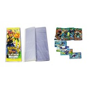 Bestie Toys Pokemon Trading Card Album Platinum - 4 Pocket (Total 104 Pocket) with 4 VIP Cards