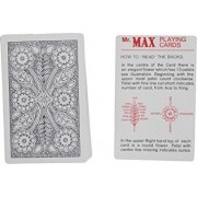 SPY Marked Magic Playing cards best For Flash (Mr.Max) Black