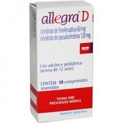 Allegra D Com 10 Comprimidos Revestidos