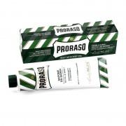 Proraso crema da barba rinfrescante e tonificante olio di eucalipto e mentolo per tutte le barbe tubo verde 150 ml