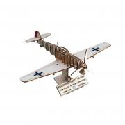 Art & wood Zrakoplov Messerschitt BF109