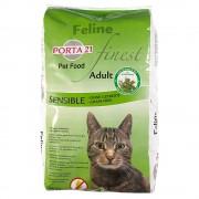 Porta 21 ração para gatos 2 x 10 kg ou 2 x 2 kg - Pack económico - Finest Sensible sem cereais (2 x 10 kg)