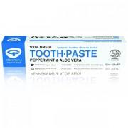 Pasta de dinti cu menta si aloe vera (pt adulti) BIO - 50 ml