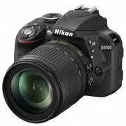 Nikon D3400 AF-S 18-105VR f/3.5-5.6 G DX DSLR Digitalni fotoaparat s objektivom 18-105mm F3.5-5.6 18-105 VR VBA490K003 VBA490K003