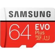 Samsung MicroSDXC 64GB EVO Plus + SD adapter