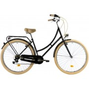 Bicicleta oras Dhs Citadinne 2834 M negru 28 inch