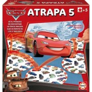 Juego Atrapa Cinco Cars Disney - Educa Borras
