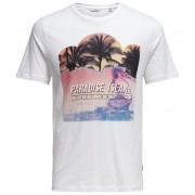 ONLY&SONS T-shirt pentru bărbați Pacifica Ss Fitted Tee Camp White XL
