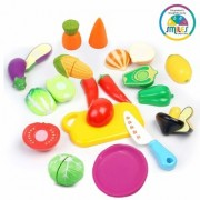 Fruits Cutting Play Toy Set with Velcro for Kids By BGC