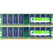 Memorii Corsair Value Select DDR2, 2x2GB, 667MHz