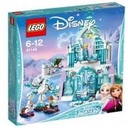 Set de constructie LEGO Disney Elsa si Palatul Ei Magic de Gheata