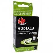 Глава за струен принтер HP 301XL,CH563EE- black, 20ml, 520k, Uprint, LF-INK-HP-CH563-UP