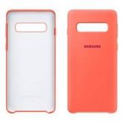 Силиконов калъф за Samsung Galaxy S10 (Silicone Cover Berry Pink), розов, EF-PG973THEGWW