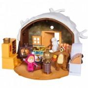 Jucarie Simba Copii Masha and the Bear Winter Bear's House