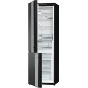 Хладилник с фризер Gorenje NRK612ORAB-L, ляво отваряне + 5 години гаранция