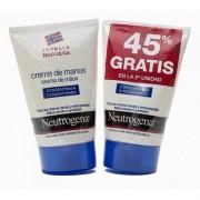 NEUTROGENA duplo crema de manos concentrada, 2 x 50ml 45% gratis en la 2ª unidad